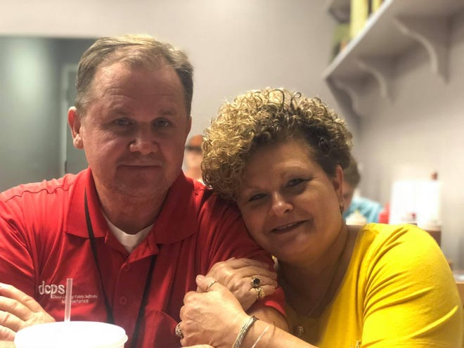 Mark McCall, 60, died Friday just days after his oldest son. Both were Duval Schools employees and suffered from COVID-19 complications. Mark's wife, Sherry, is also a Duval Schools employee and has COVID-19. She remains hospitalized. Now, their daughter, Payten McCall, is urging people to get vaccinated.
