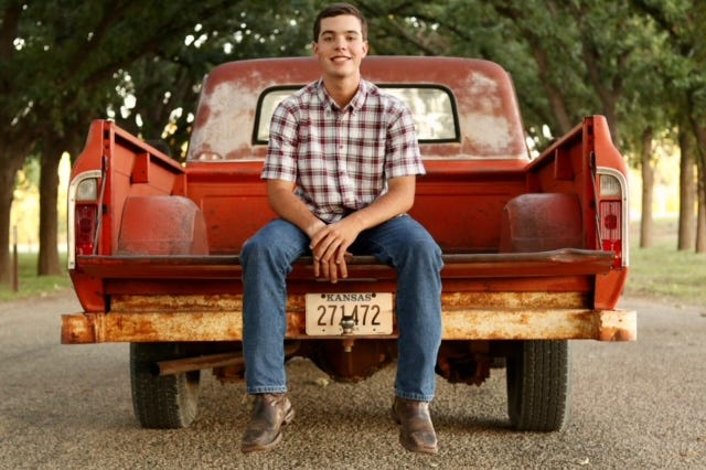 Derek Eichman, a 2021 Hays High School graduate, was recently awarded a $10,000 Work Ethics Scholarship from the Mike Rowe Foundation.