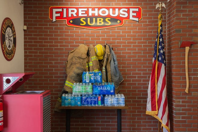 Firehouse Subs is hosting its ninth annual H2O For Heroes on Aug. 7.