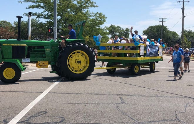 Holy Ghost's 2019 Monroe County Fair Parade entry is shown.