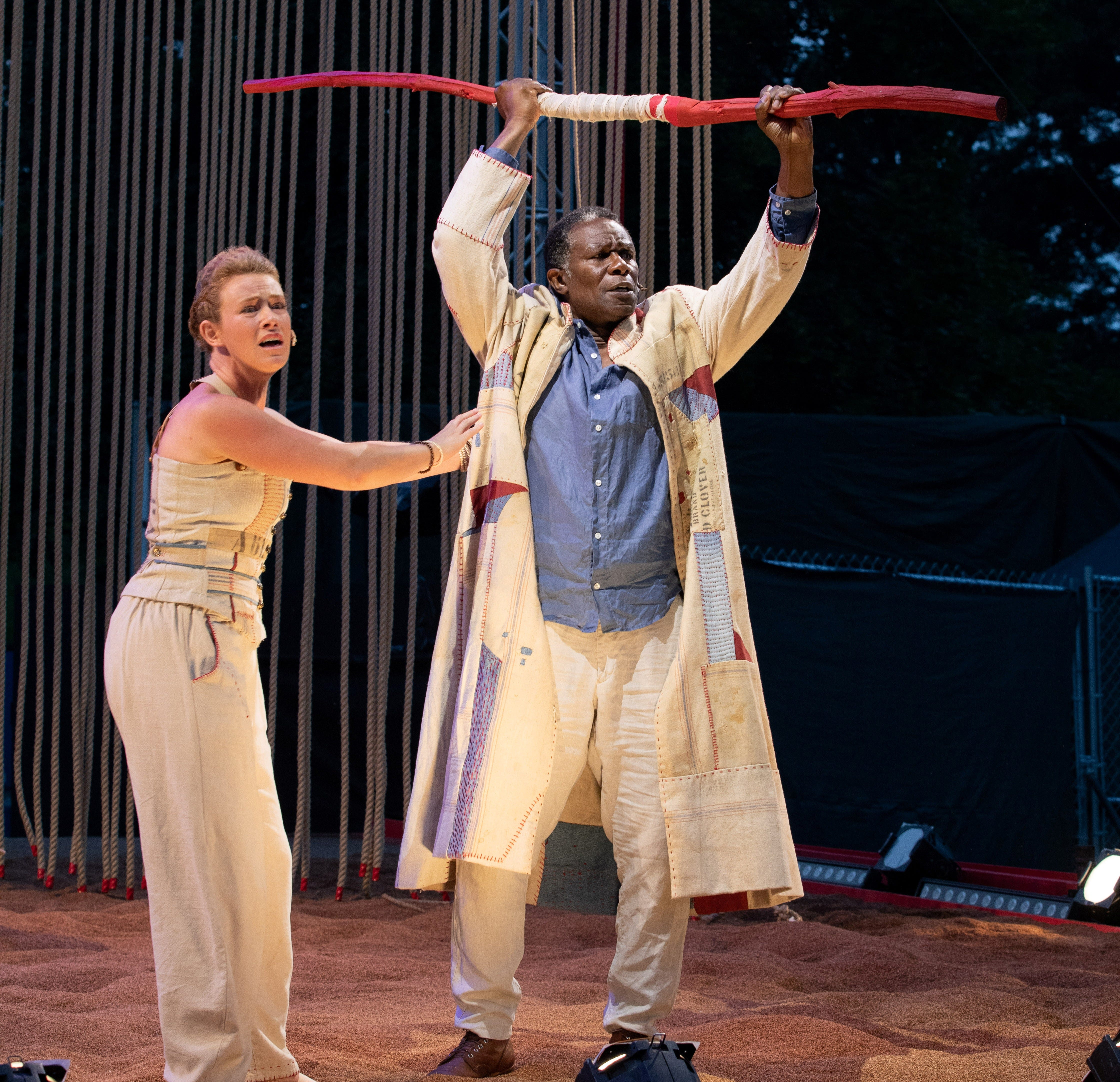Free outdoor Shakespeare at Boston Common stars Quincy actor/dancer