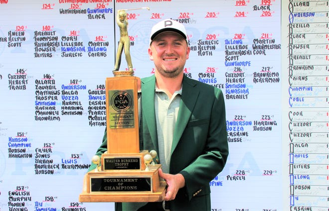 Otto Black of Pinckney and a Mackenzie-PGA Tour Canada pro, earned an overall Tournament of Champions win at Boyne Mountain with a near-record 63 on the final day.