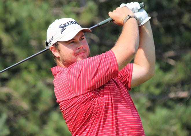 Grand Rapids native Sam Weatherhead made a run and grabbed hold of the lead after the second round of the Tournament of Champions at Boyne Mountain Tuesday.