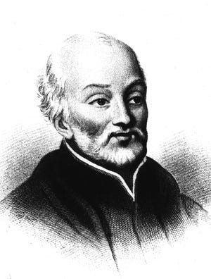 Father Pierre Francois Xavier de Charlevoix, here July 30-31, 1721