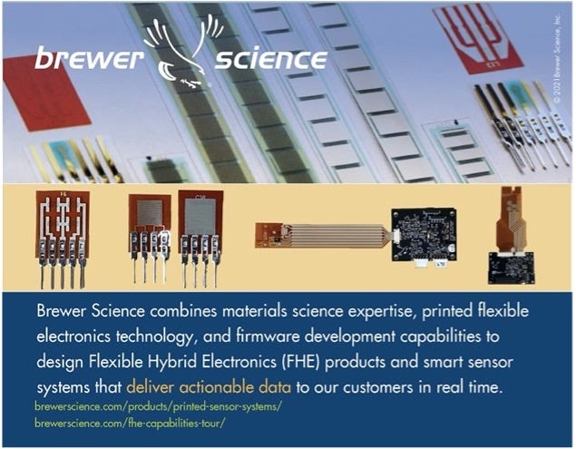 Brewer Science has presented research and showcased the company's innovative capabilities at NextFlex's past events. However, this will be the first event after the announcement of Brewer Science's expanded Smart Devices and Printed Electronics Foundry capabilities earlier this year.