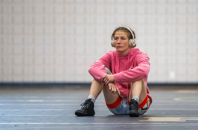 There was a time not long ago when former Penn High School wrestler Sarah Hildebrandt didn't think the Olympics would ever happen for her. They have.