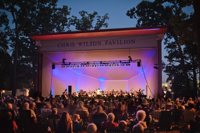 The Community Foundation of St. Joseph County's Performing Arts Series runs every Saturday in August at the Chris Wilson Pavilion in South Bend's Potawatomi Park. It begins Aug. 7 with Southold Dance Theater. The South Bend Symphony Orchestra is shown in a past year.