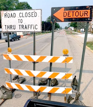 Drivers hoping to proceed briskly through White Pigeon will have to be patient for a few months, as MDOT is in the midst of a $972,000 resurfacing project.