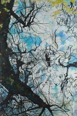 Elizabeth Bradford's 'Duckweed as Constellations.'