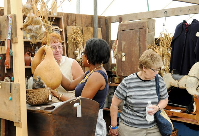 The 49th annual Antiques Show and Artisan Tent will be held on Saturday and Sunday at Historic Zoar Village.
