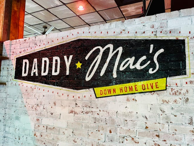 North Carolina inspired food will be served at Daddy Mac's Downhome Dive, slated to open in late August.