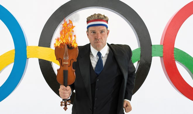 """Conductor Aaron Collins and the Space Coast Symphony Orchestra will """"Summon the Heroes"""" during an Aug. 7 concert of music written for or about the Olympics."""