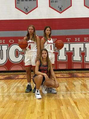 Buckeye Central's trio of Claudia Pifher, Emily Siesel and Ryley Kantzer all earned All-Northern 10 honors last year.