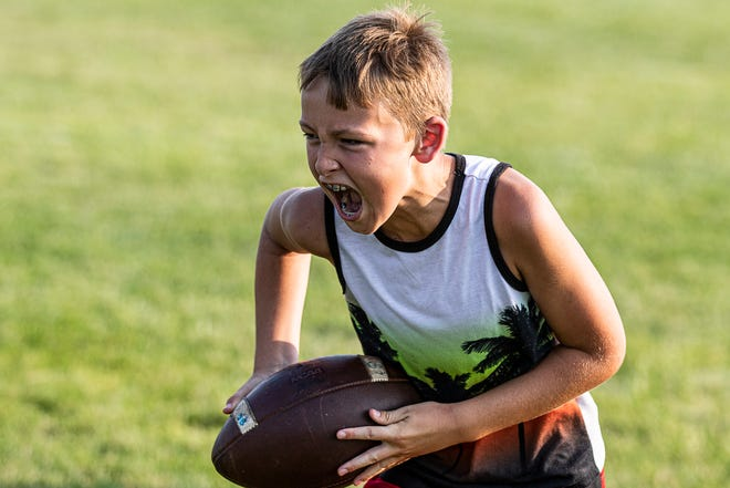 The Southeastern Panthers held a summer football camp with almost 70 kids participating on July 26-27, 2021.