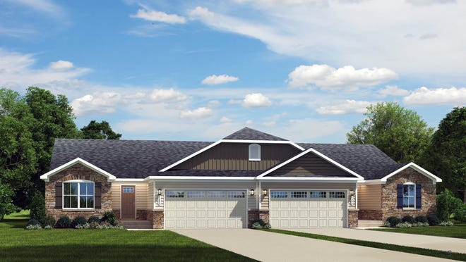 The Barbados Isle is one duplex option offered by Developer NVR Inc. showing 124 duplex homes on 37.5 acres on the north side of Ohio 4 between Creekside and Indian Meadows drives.