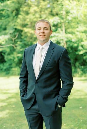 Casey Sorrell, new head boys basketball coach at Holy Cross High School. July 28, 2021.