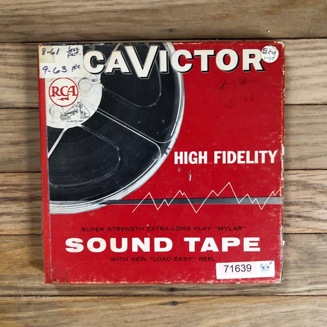A reel-to-reel tape containing what is perhaps the last known recording of the 1961 Indiana Jazz Festival. Public radio host Kyle Long will play snippets of the festival on his public radio show.