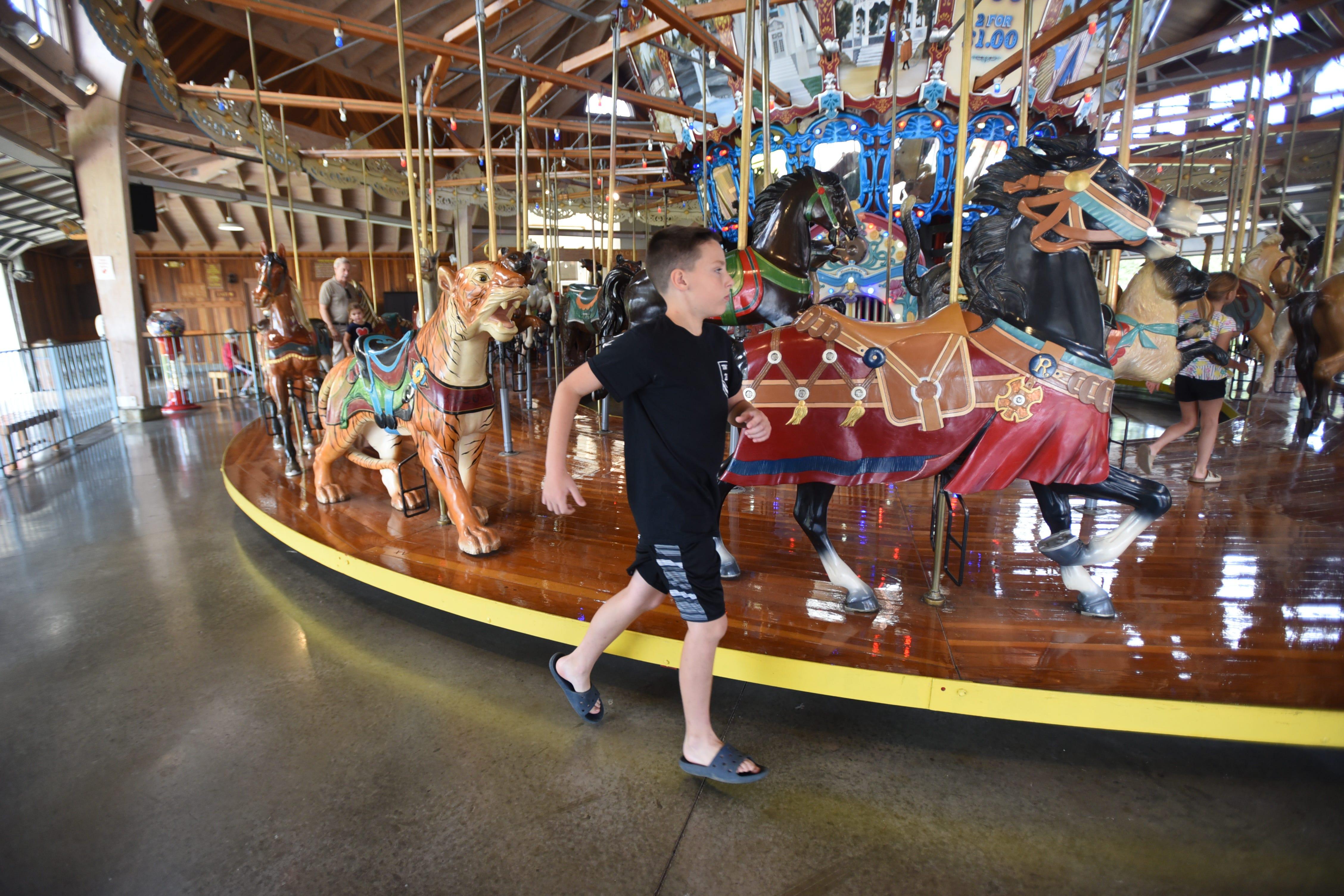 Willowbrook Park Staten Island Carousel
