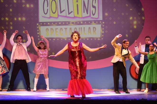 Edna Turnblad, played by Robert Hardin-Leeth, will rock the stage this weekend and next during performances of Hairspray at The Renaissance Theatre.