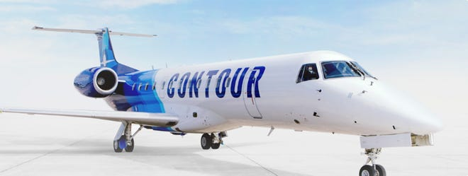 Contour Airlines said Wednesday it will begin service between Milwaukee and Indianapolis and Milwaukee and Pittsburgh.