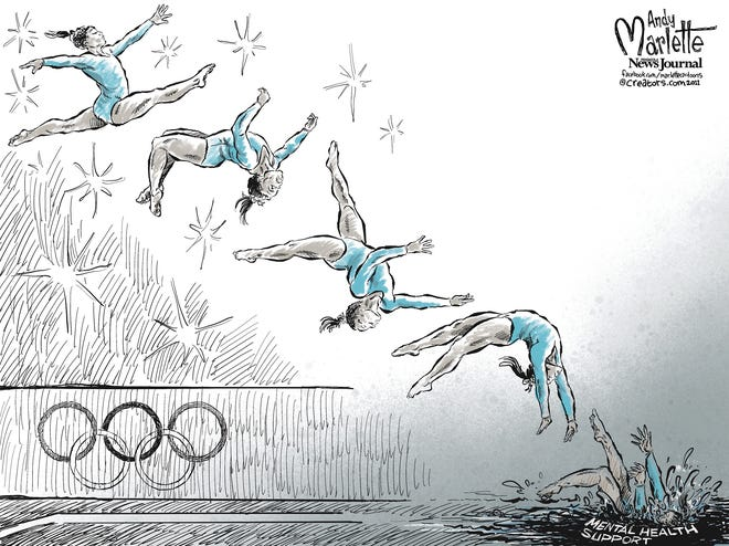 Marlette cartoon: Olympic highs and lows