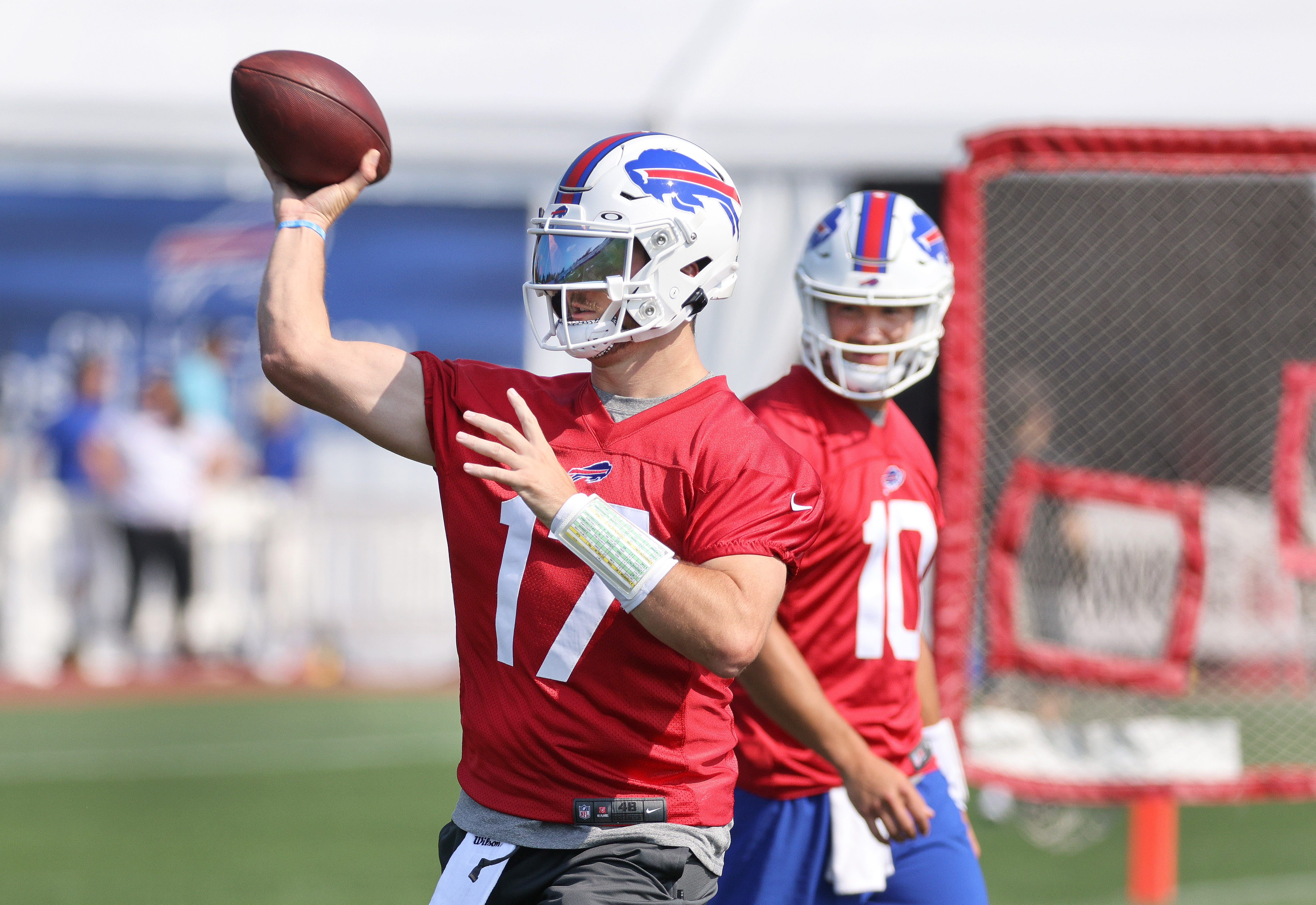 Mitchell Trubisky trying to reset his career as Josh Allen's backup in Buffalo