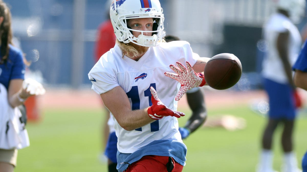 Cole Beasley among four unvaccinated Buffalo Bills players sidelined by NFL's COVID-19 protocols