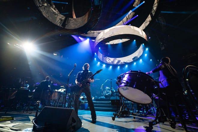 Metallica in concert in San Francisco on Sept. 6, 2019.
