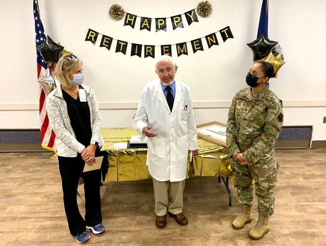 The Overton Brooks VA Medical Center hosted a retirement ceremony for Dr. Aubrey Lurie, who served 33 years at the VA.