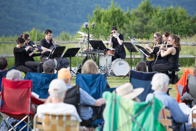 The American Wild Ensemble usually performs outdoors. The group has performed widely, especially at national parks, such as Great Smoky Mountains, Mount Rainier and Hawai'i Volcanoes.