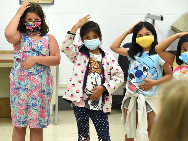 Waynesboro students participate in the school division's summer program at Berkeley Glenn Elementary School. Elementary students will begin the school year Aug. 10 wearing masks after a vote by the School Board Tuesday night.