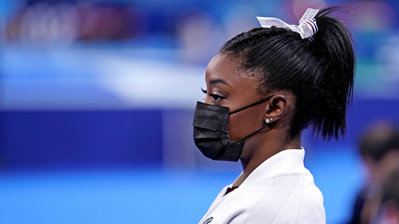 Simone Biles will not compete in vault, uneven bars event finals at Tokyo Olympics