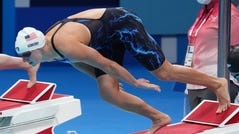 Katie Ledecky will swim in two more finals Wednesday in Tokyo.