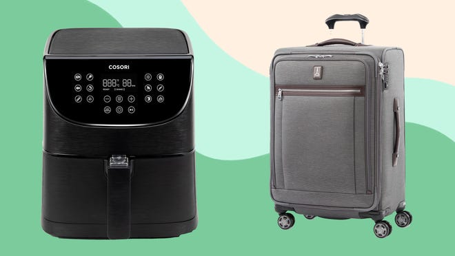 You can snag kitchen appliances, luggage, bedding and more at the Macy's home sale.