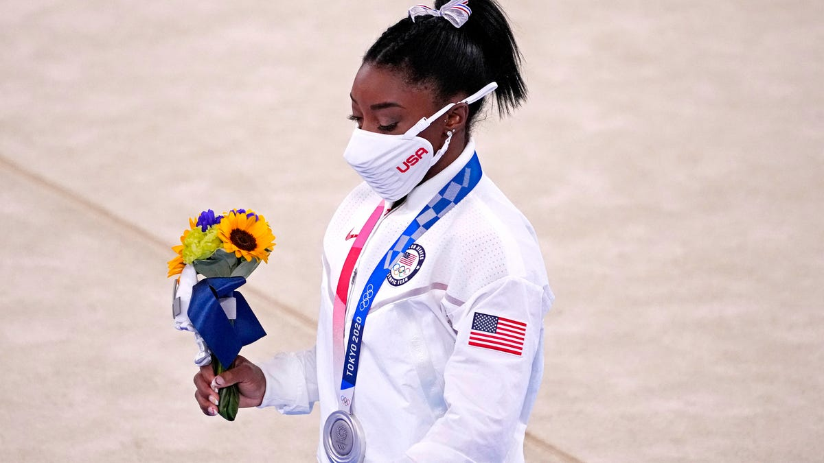 'I hope she knows that I really support her': Katie Ledecky speaks empathetically about Simone Biles