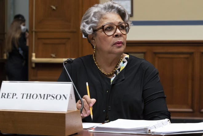 Texas State Democratic Rep. Senfronia Thompson attends a House Committee on Oversight and Reform hearing about voting rights in Texas on July 29 on Capitol Hill in Washington, D.C.