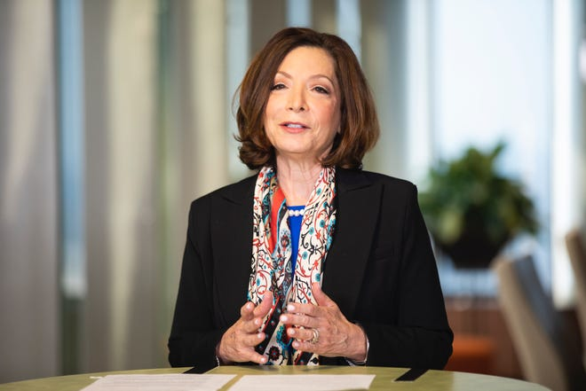 Leslie Davis was recently named president and chief executive officer of UPMC. Davis is the first female president and CEO of the health care giant.