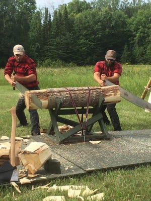 At the 16th annual Historic Festival at Heritage Village in Mackinaw City this Saturday, there will be demonstrations of lumberjacks as part of the unique programs being offered.