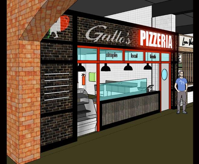 Gallo's Pizzeria rendering