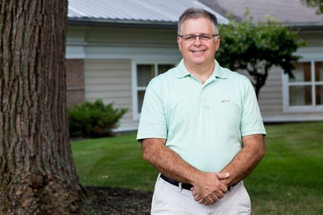 Doug Arnold photographed at Wesley Ridge in Reynoldsburg on Wednesday, July 28, 2021.