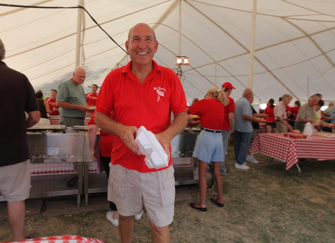 Steve Dodson is back for another year as chair of the St. James Brats and Crafts Festival.