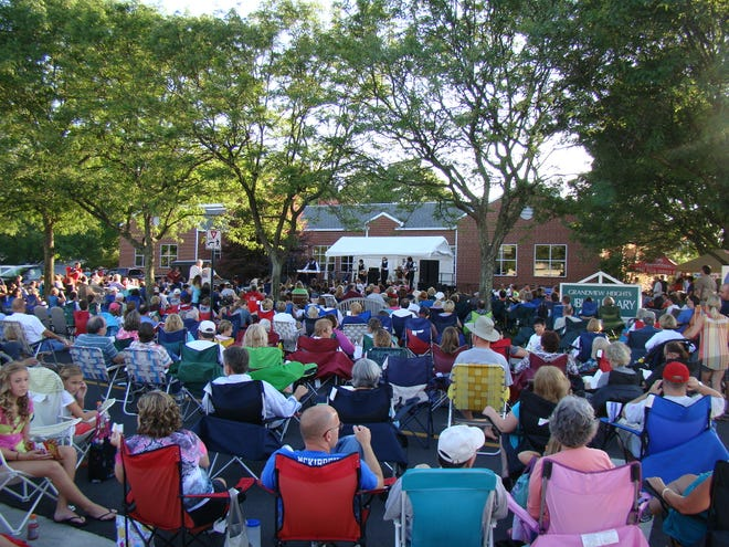 The Music on the Lawn summer concert series returns Aug. 3 to the Grandview Heights Public Library with a performance by The British Invasion.