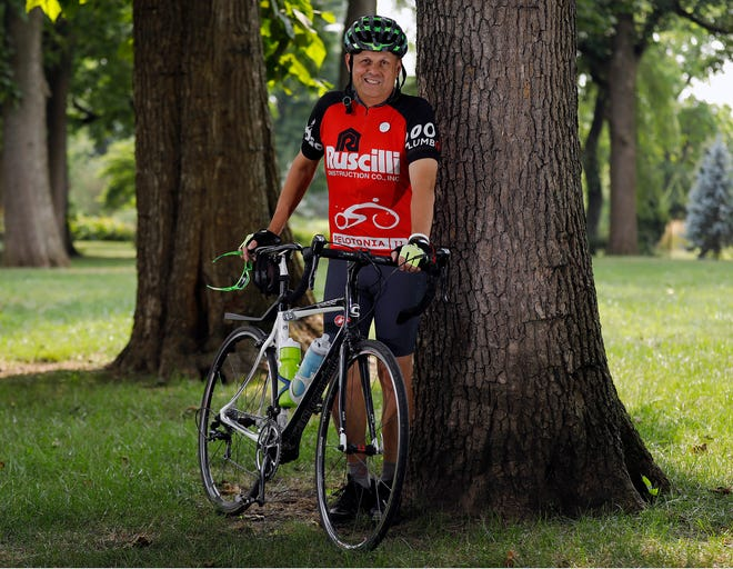 Jim Coleman, of Olde Towne East, has been riding in Pelotonia for 13 years, and he realized after last year's virtual incarnation just how much it means to him to do it in person.