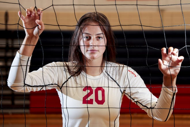 Hartley junior Ella Brandewie is one of the top volleyball players in the country.
