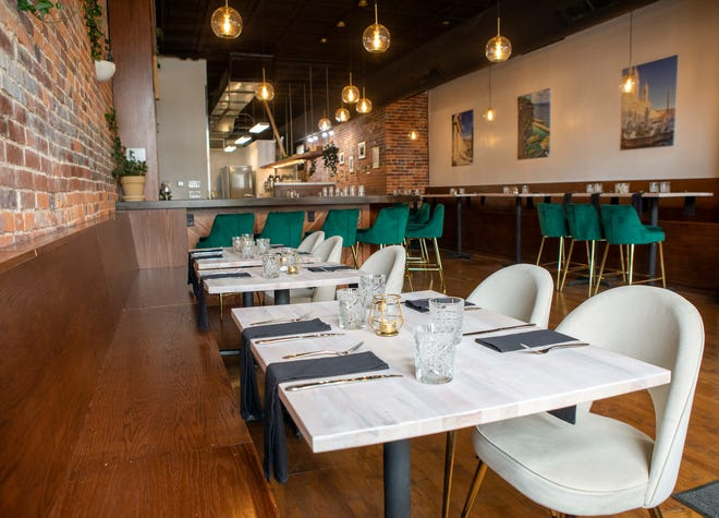 Vinny and Christina Pelino are opening Pelino's Pasta Aug. 5 on King Avenue in Dennison Place. The restaurant, which specializes in traditional Italian pasta dishes, will take over the building formerly occupied by Yellow Brick Pizza.
