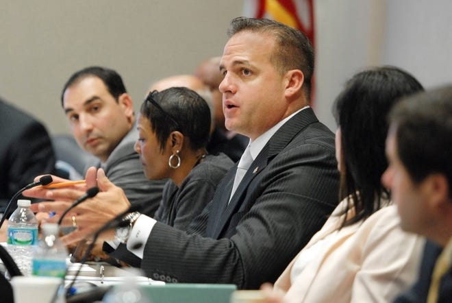 Frank Artiles, shown here as a member of the House of Representatives, resigned from the state Legislature after going on a racist, sexist rant in a Tallahassee bar in front of other state Senators in 2017, and was brought on by Data Targeting Inc., in 2020, to help steer other Senate GOP hopefuls' campaigns.