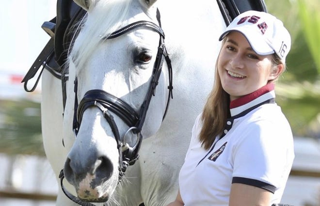Five years after surviving a terrorist bombing in Brussels, equestrian Beatrice de Lavellette is scheduled to compete for theU.S. Para Dressage Team in the Paralympic Games in Tokyo.