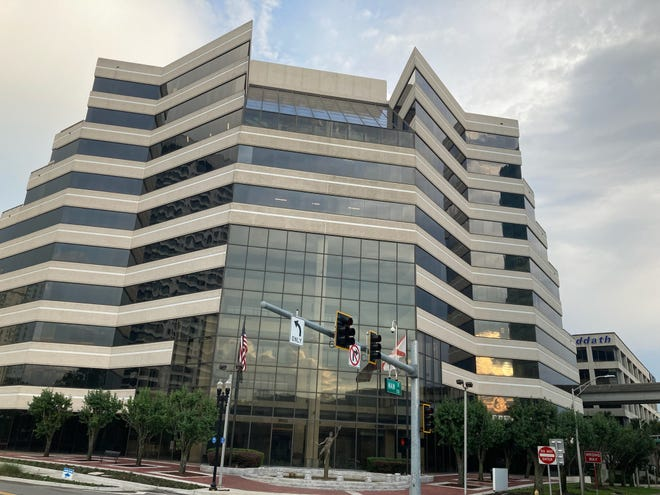 Car dealer Jack Hanania plans to close at the end of August on his purchase of the former headquarters of Stein Mart at 1200 Riverplace Blvd. on downtown Jacksonville's Southbank