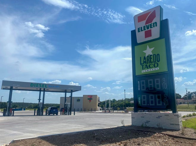 The new 7-Eleven, located at the corner of SH 144 and Highway 67, is scheduled to open Monday, and the grand opening will be Tuesday.