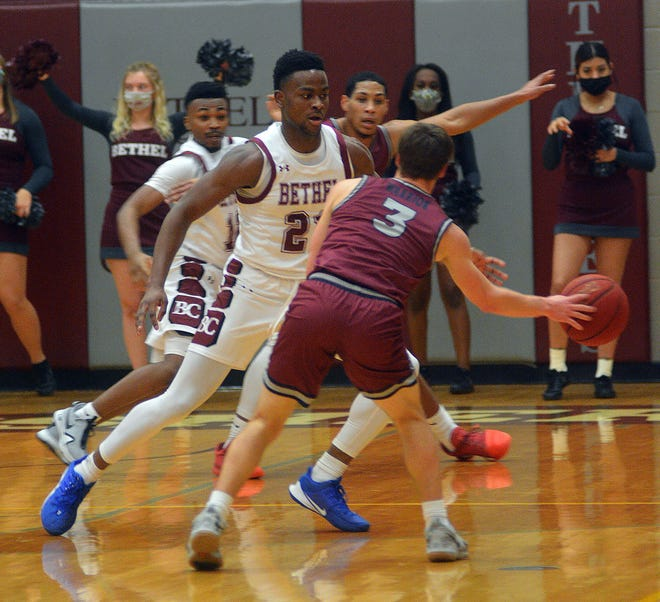 Bethel junior Jaylon Scott was named a second-team CoSIDA Academic All-American for the 2020-21 season. Scott helped lead the Threshers to an NAIA national berth and a spot in the round of 16.